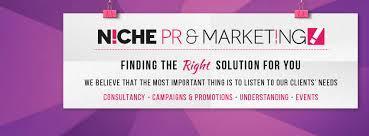Niche PR & Marketing banner