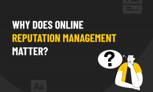 online reputation management matter