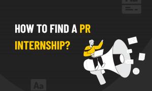 Find a PR Internship