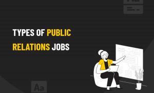 Types of PR Jobs