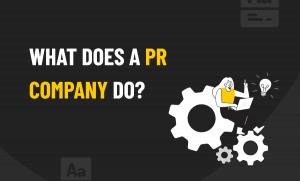PR company do
