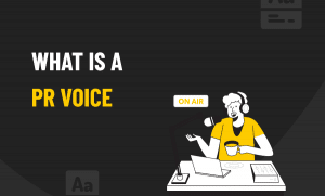What is a PR Voice